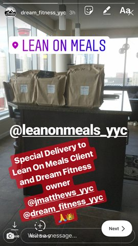 Special Delivery to One of Calgaryand39s Top Personal Trainers DreamFitnessYYC