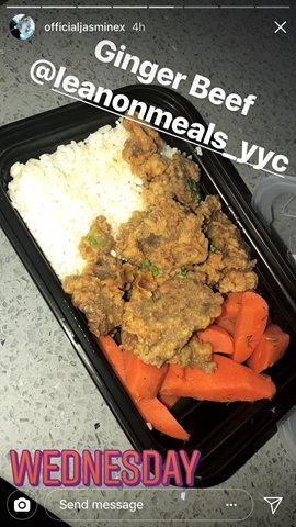 One Of Our Most Popular Menu Choices... Ginger Beef with Coconut Rice HealthyEating